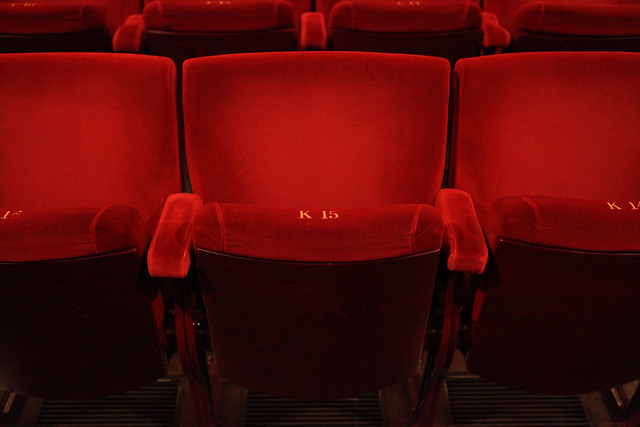 Seat K-15 in the main auditorium at the Royal Opera House © ROH/Ruairi Watson, 2013
