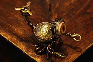 Steampunk Scorpion Minion