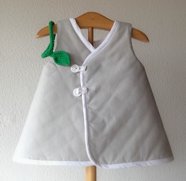 totoro little dress back