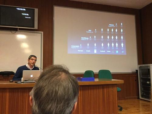 Ignacio Martín Jiménez expone por Apple Educación
