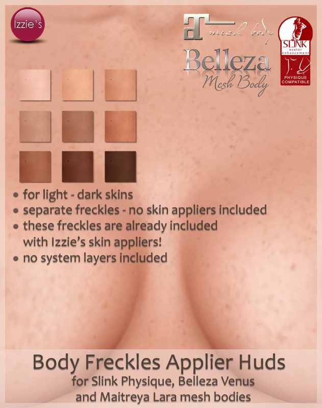 Body Freckles Appliers