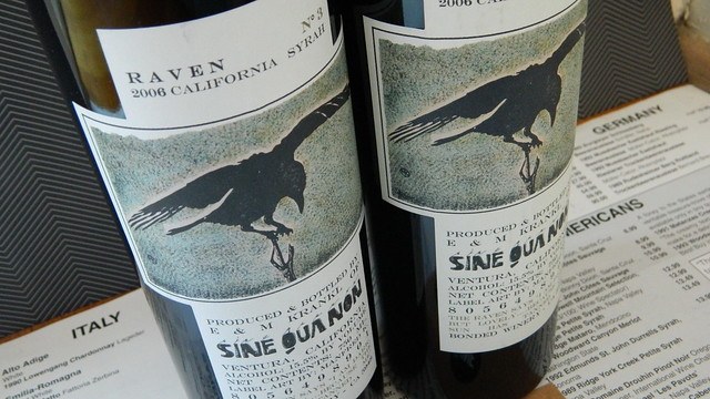 Sine Qua Non 'Raven No.3' Syrah (California) Rated RP 96-99 Points..