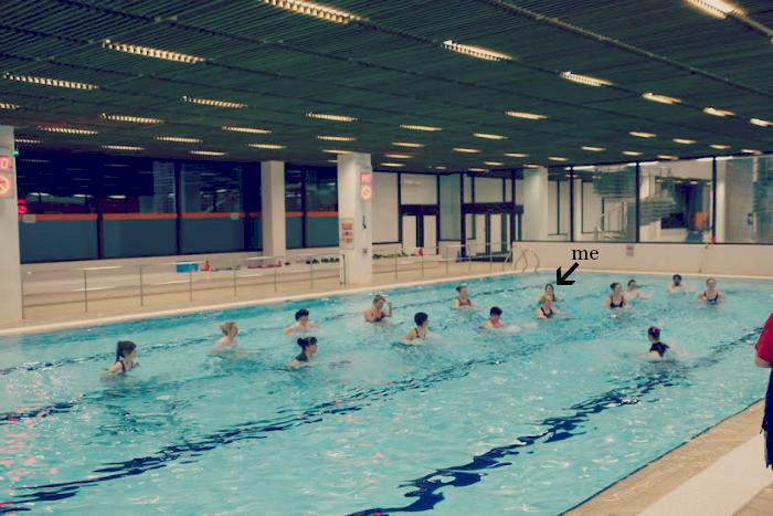 Simplyhealth aqua spin class
