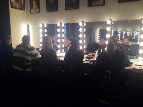 Fwd: Backstage makeup studio