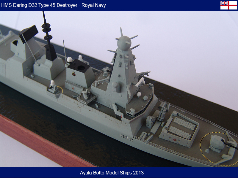 HMS Daring D32 Type 45 Destroyer Royal Navy - Cyber Hobby 1/700 16489086309_8a40d44927_c