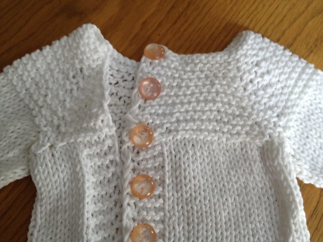 cardigan because niece is born