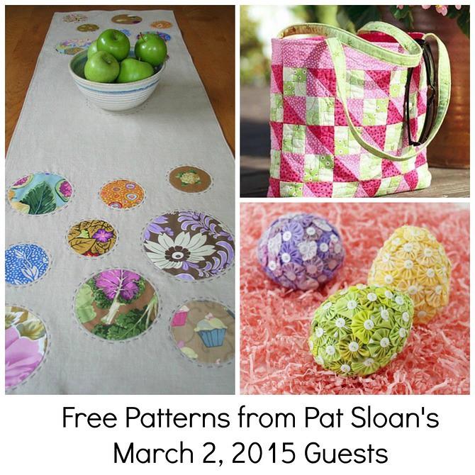 pat sloan mar 2 free patterns