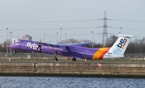 G-JECE Bombardier DHC-8-402Q Flybe