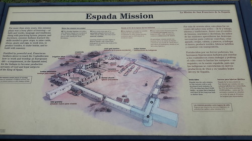 Espada Mission - these missions were built like a big compound