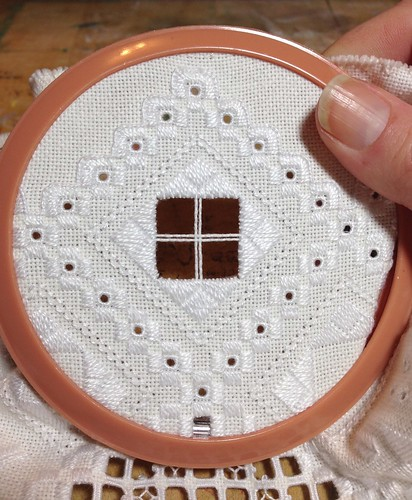 Edelweiss stitch beginning