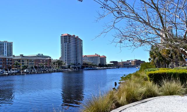 ampa bay history center - riverfront view