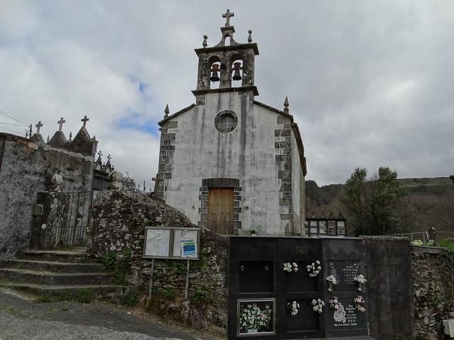 Iglesia de San Paio en Toques