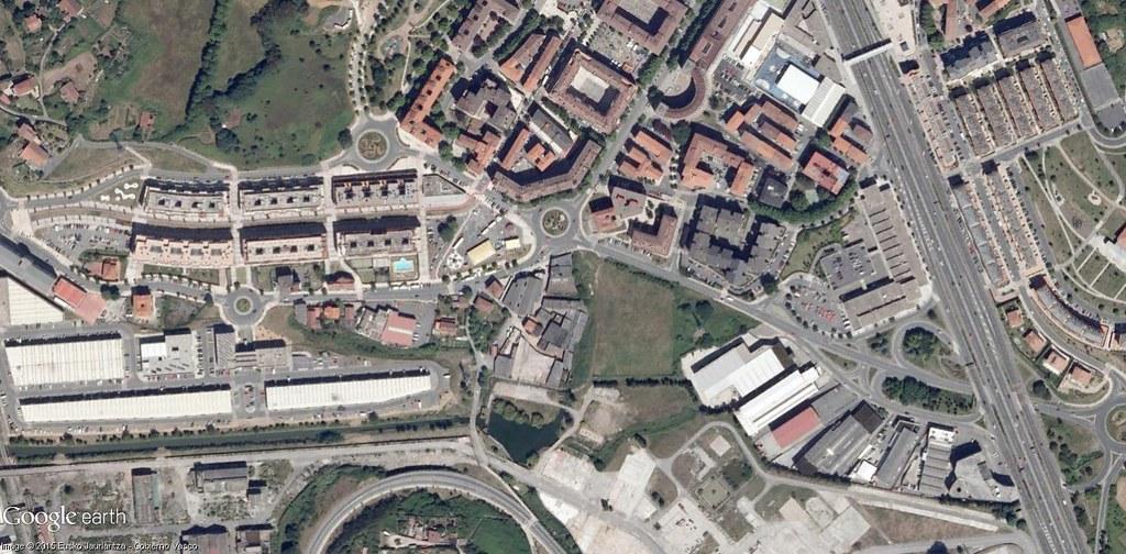 después, urbanismo, foto aérea,desastre, urbanístico, planeamiento, urbano, construcción, Leioa, Bizkaia