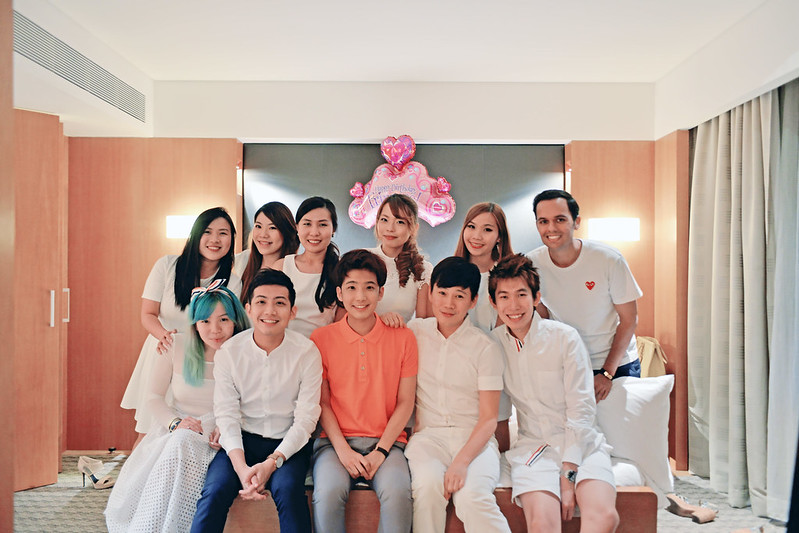 typicalben and friends Grand Hyatt Singapore