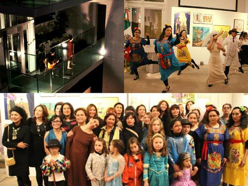 """Inauguración de la exposición """"Alas y Raíces"""", Alemania"""