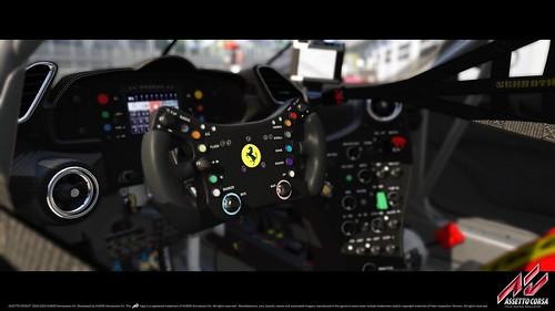 Assetto Corsa Ferrari 488 GT3 Cockpit