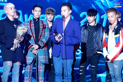 Big Bang - The 5th Gaon Char K-Pop Awards - 17feb2016 - With G-Dragon - 17