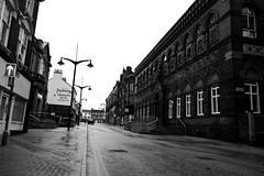 Burslem Queen Street Black and white