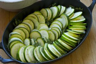 zucchini-onion tian