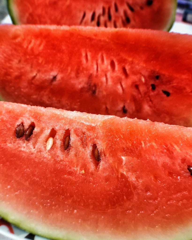 Watermelon summertime  #photooftheday #amazing #likes4follow #instalike #igers #picoftheday #food #instadaily #instafollow #followme #instagood #bestoftheday #instacool #instago #follow #webstagram #colorful #summer #food #red #foodporn #yum #instafood #y