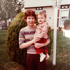 2016.238 #tbt to 1982, me and my Aunt Jo!