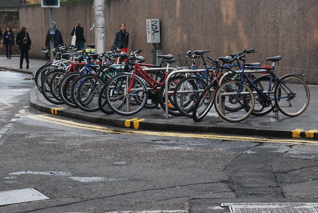Need more cycle parking
