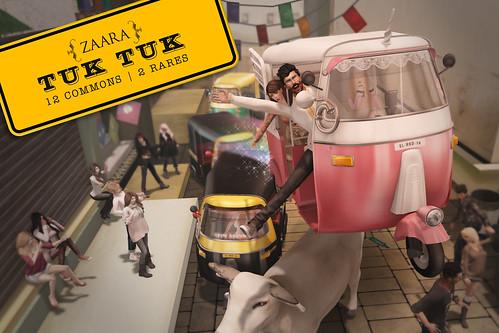 Zaara for Arcade : Drivable Tuk Tuks!
