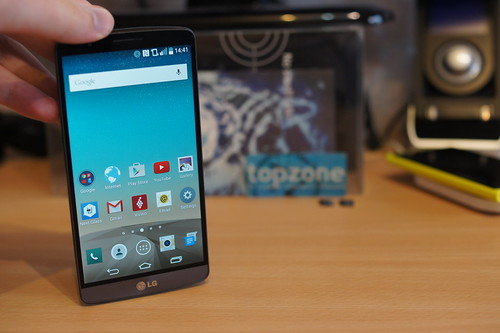 Pusmetis su LG G3   išsami telefono apžvalga