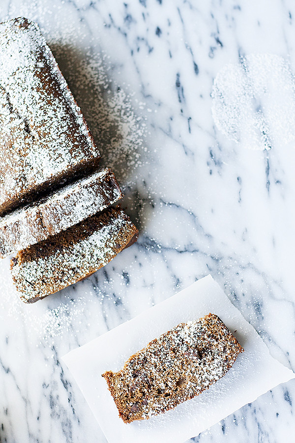buttermilk gingerbread with chocolate