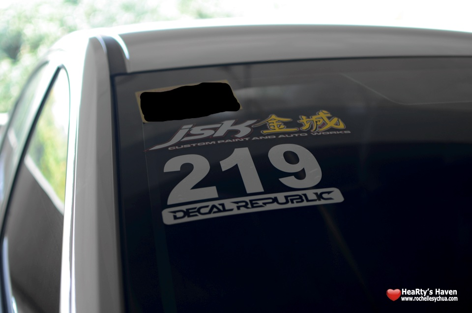 Honda City Fun Run Stickers