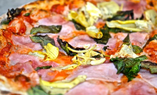 Pizza Capricciosa - la fattoria italian restaurant guatemala city