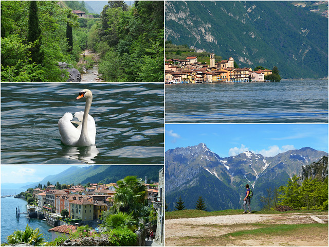 Italian Lakes walking Montage