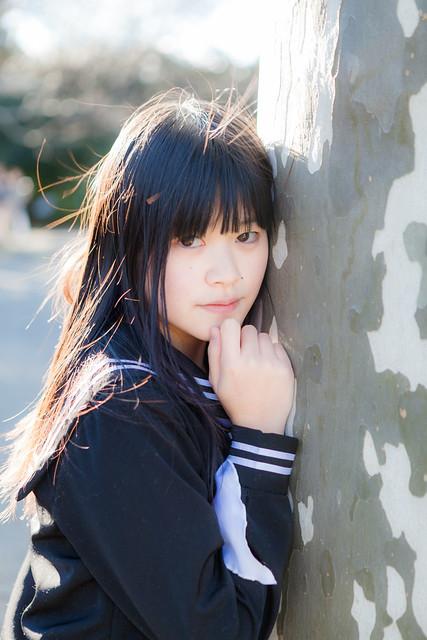 Model:長瀬さん