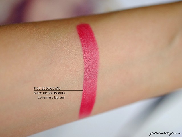 Marc Jacobs Beauty Lovemarc Lip Gel 128 Seduce Me swatch