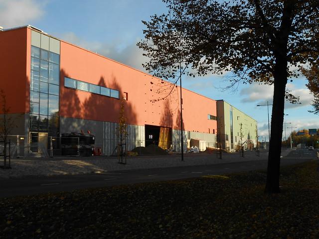 Hämeenlinnan moottoritiekate ja Goodman-kauppakeskus: Työmaatilanne 13.10.2013 - kuva 7