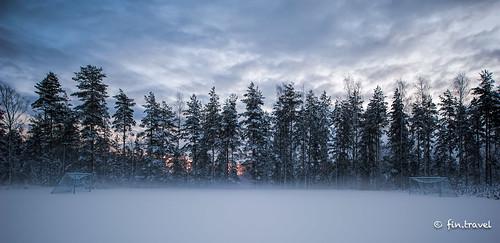 winter suomi finland football nikon mm fo playingfield topaz lightroom gridiron 1424 nuijamaa d700 1424mm