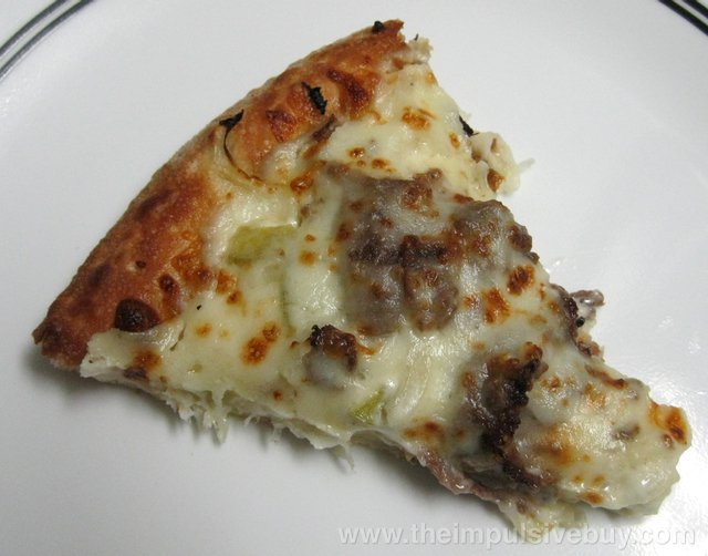 Papa John's Philly Cheesesteak Pizza Slice
