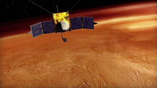 MAVEN orbit Mars