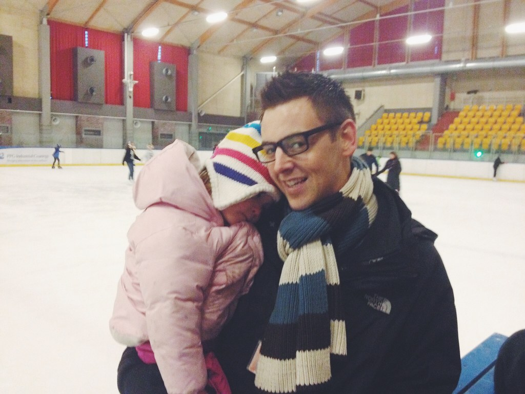 Ice Skating in Poland (11/29/14)