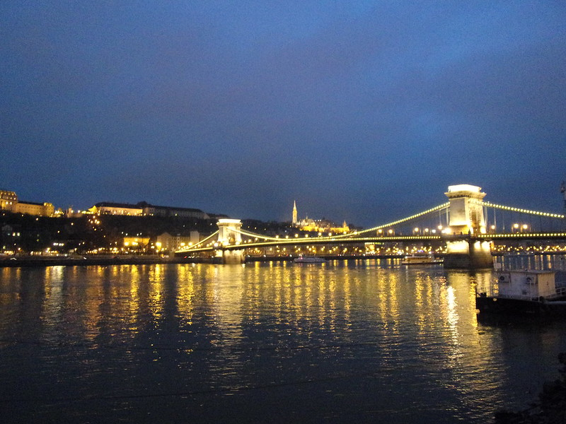 Danube on the first night