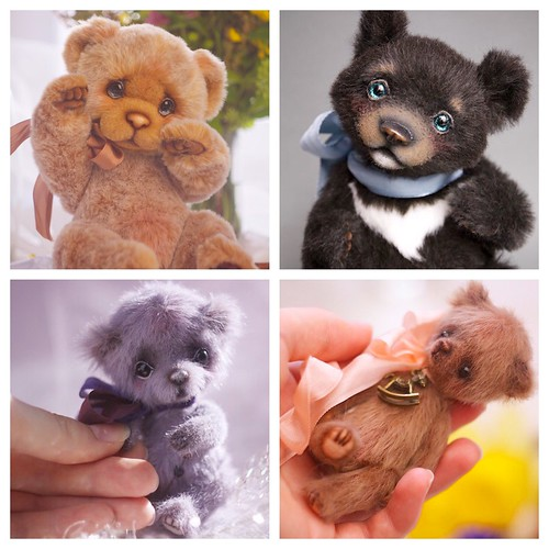 My teddys of 2014 #teddy #artistteddy #teddybear