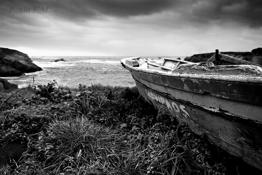 2081 - Bote en cala Cabo Prior