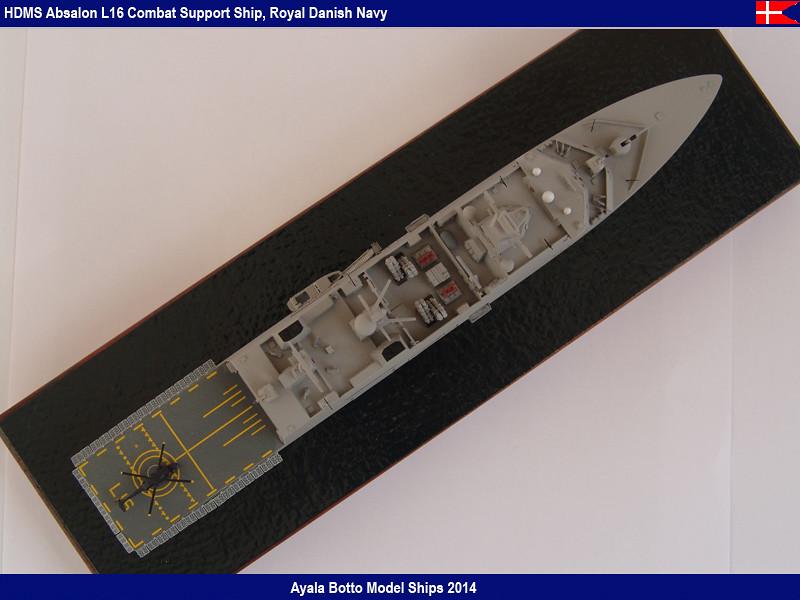 HDMS Absalon L-16  Navire de Soutien Multifonctions - NNT 1/700 16022121354_93e99663e7_b