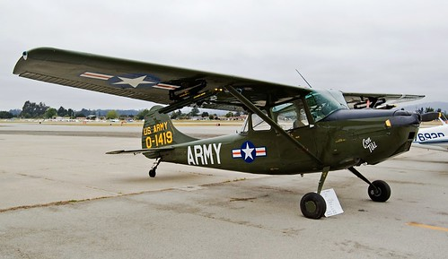Cessna L-19A-IT Bird Dog (photo: Nishant Deshpande)