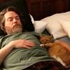 My son Garrett took this photo of me and Pat the cat last night. I see no problem with it. Just a bearded fat guy and his feline pal.