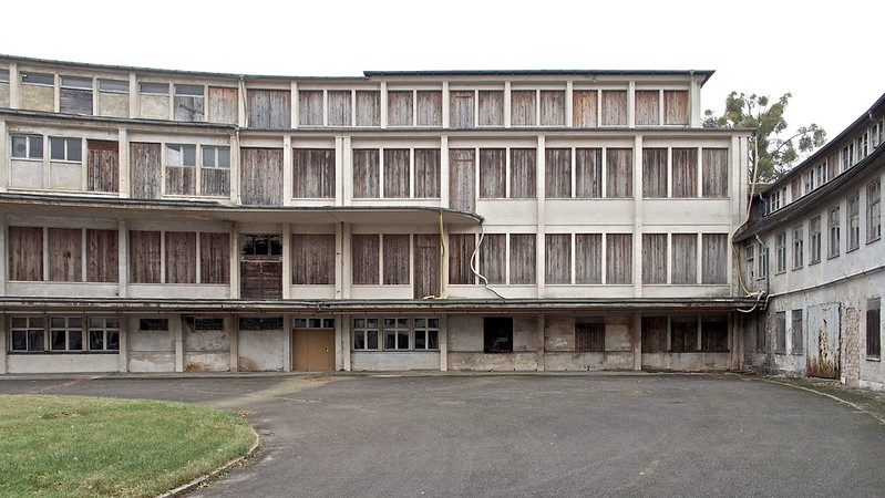 Abandoned Eating House of the Nations – Speisehaus der Nationen