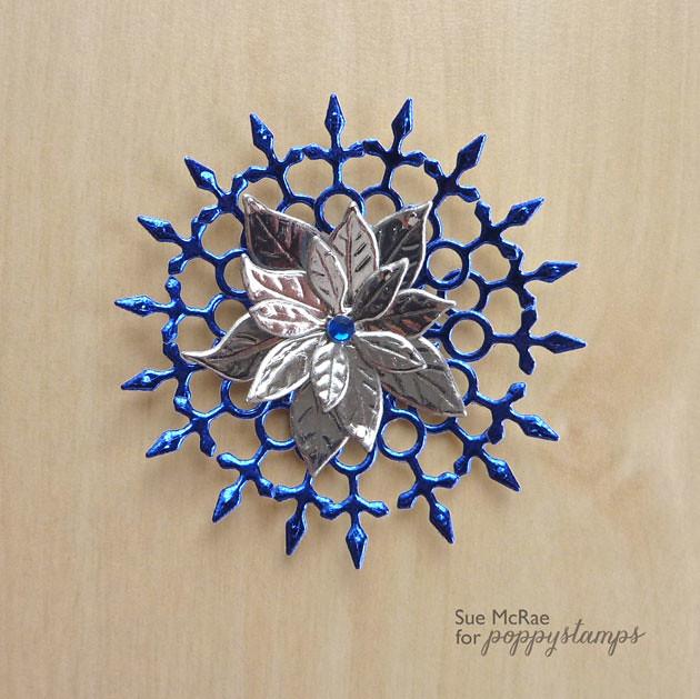 Snowflakes & Poinsettia