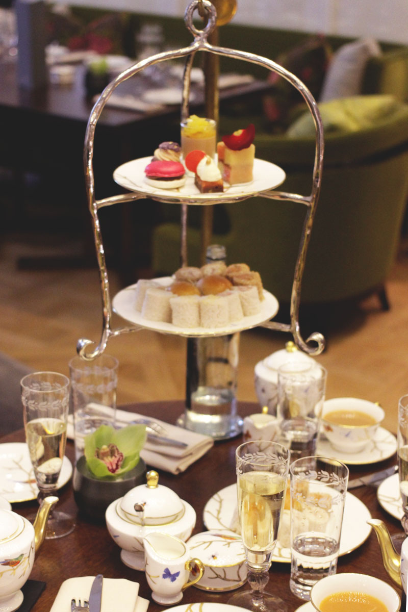 Prettiest Afternoon Tea Displays, London, Bumpkin Betty