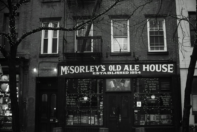 McSorley's Old Ale House, East Village NY, 24 Dec 2014. 096