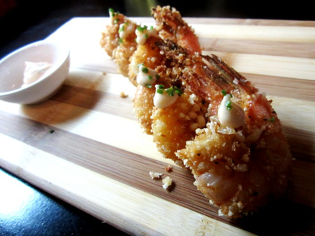 Tempura of prawn
